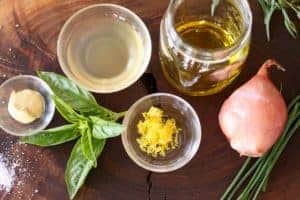 Vinaigrette ingredients