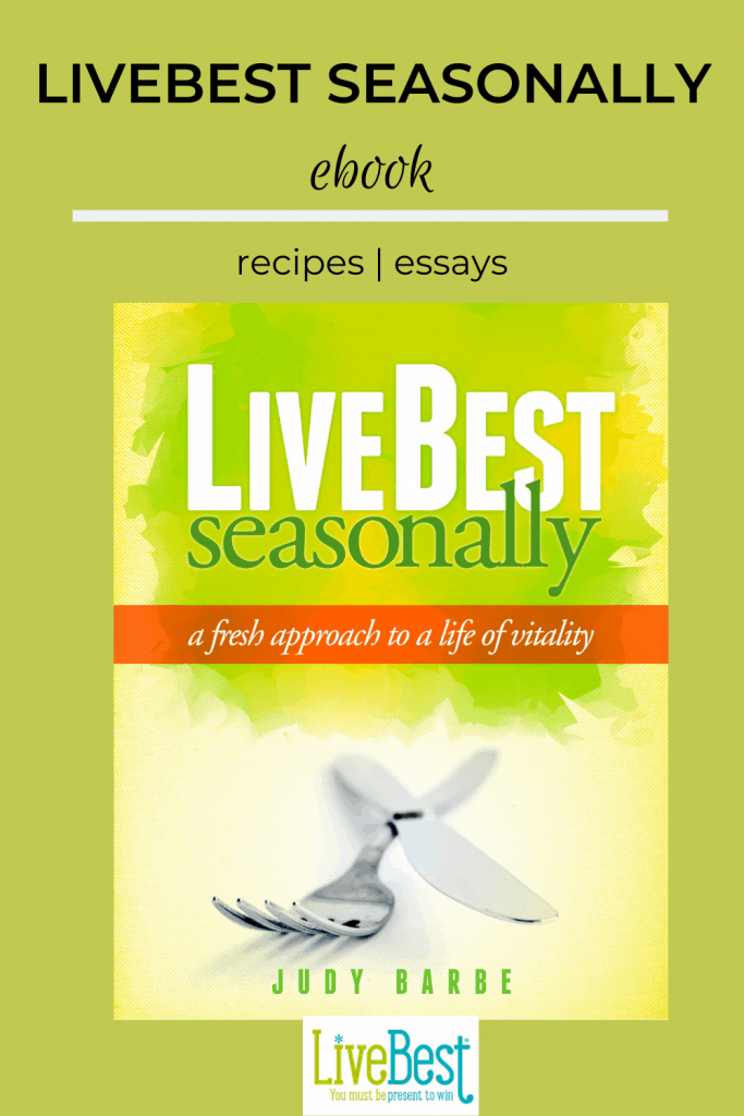 Book cover LiveBest Seasonally