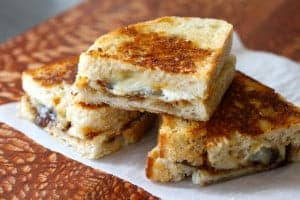 Not Your Mother's Grilled Cheese | Leftover cheese goes gourmet with this easy recipe. www.LiveBest.info