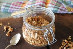 Ginger Orange Granola