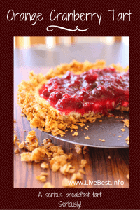 Orange Cranberry Tart