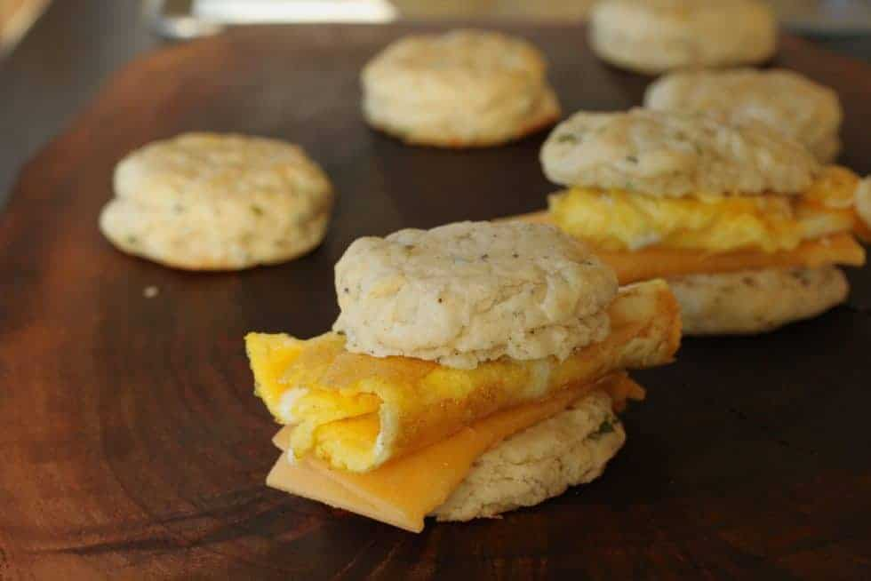 Chive Cracked Pepper Biscuit * www.LiveBest.infp
