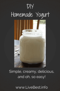Homemade Yogurt recipe | Simple, creamy, delicious, and oh, so easy! www.LiveBest.info