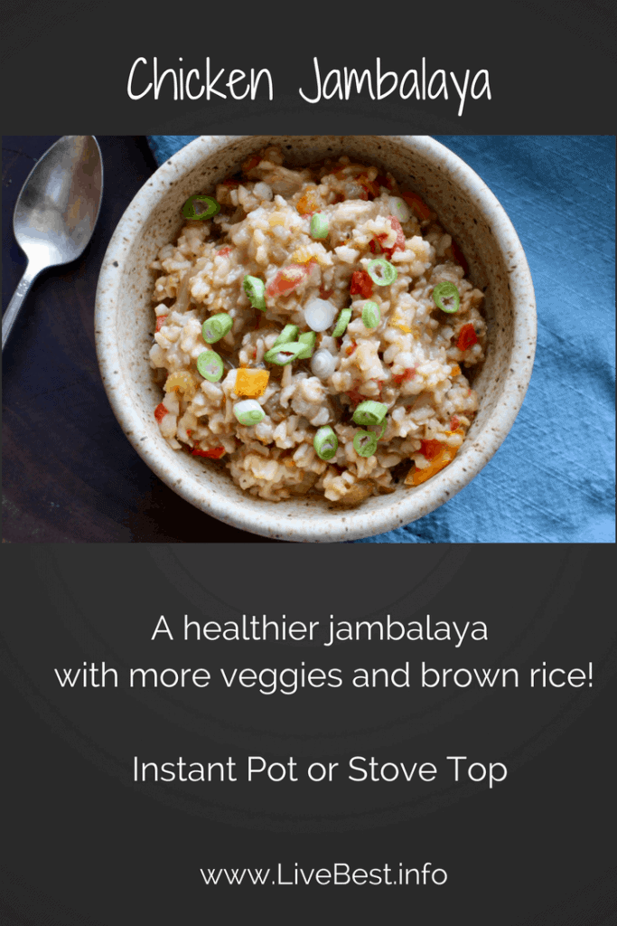 Chicken Jambalaya bowl