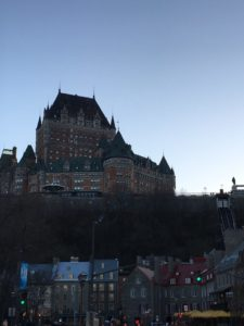Chateau Frontenac Quebec City, photo by Judy Barbe, LiveBest.info