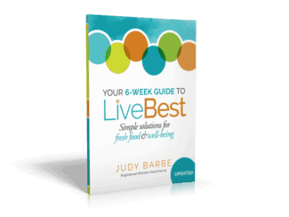BOOK: Your 6-Week Guide to LiveBest: Simple Solutions for Fresh Food & Well-Being